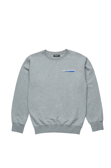SLOW STARTER SWEATSHIRT GRAY_M19ASS001GR